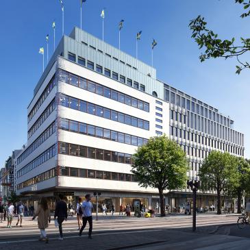 Veitech utför tekniska installationer i Strömshuset i Göteborg
