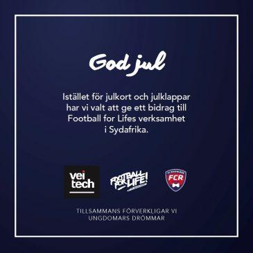 Veitech stödjer Football for Life för fjärde julen i rad