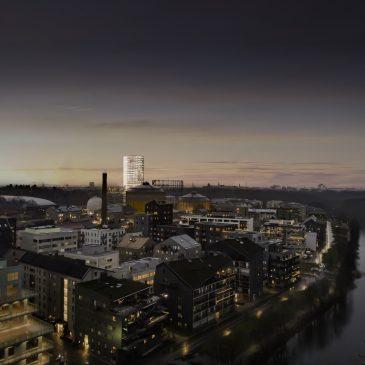Veitech bidrar i utvecklingen av Gasklockan i Stockholm tillsammans med Veidekke och OBOS
